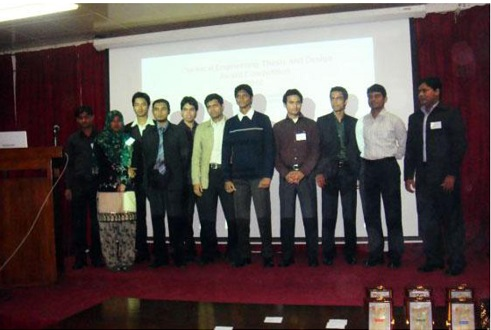 Chemical Engineering Thesis Award 2010